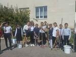 Акция:«Чистый школьный двор».