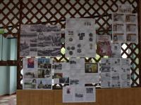 Выставка рисунков и стенгазет, посвященных 74 годовщине Победы в ВОВ