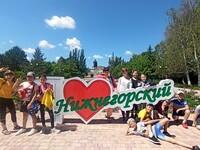 Дети лагеря «Муравейник» дружно посетили пгт. Нижнегорский