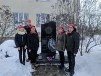 """Ребята Юнармейского отряда """"Батальон"""" присоединились к акции «Защитим память героев»"""